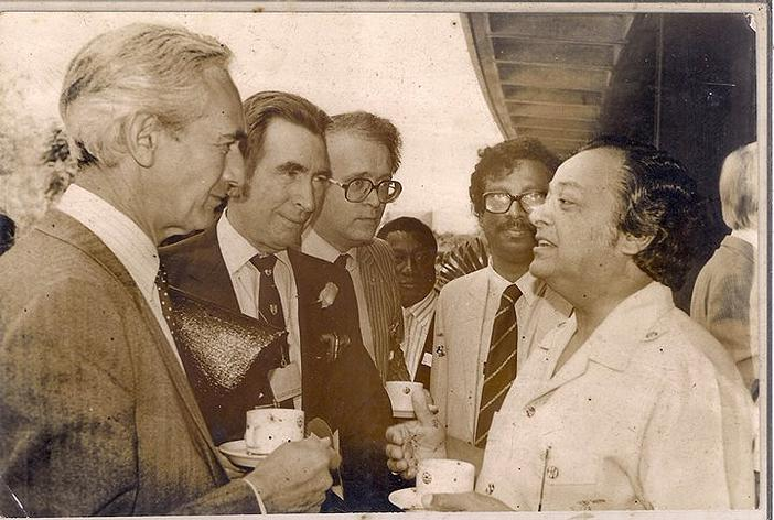ENA Founder Chief Golam Rasul Mallick at official gathering with UN