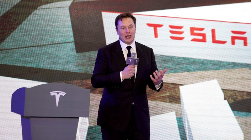 Tesla shares fall as Musk dampens Battery Day expectations