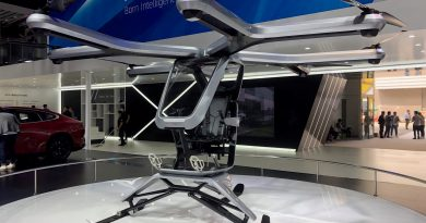 Chinese electric car start-up Xpeng shows off new flying vehicle