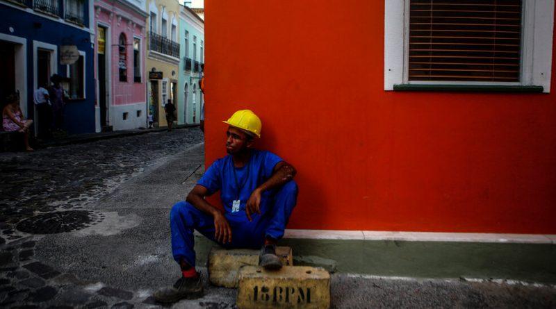 Vivid Street Scenes From Salvador, Brazil