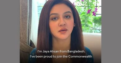 Actress Jaya Ahsan joins global campaign to stop domestic violence