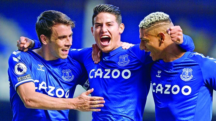 Everton thrash West Brom | The Asian Age Online, Bangladesh