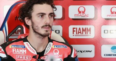 "Bagnaia: Lead crash in Emilia Romagna GP caused by ""something dirty on track"" - MotoGP"