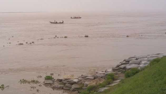 Water level in Ganges basin continues to rise