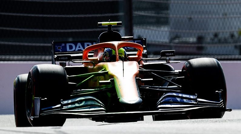 McLaren continues to run revised Mercedes-style nose in F1 Russian GP practice - F1