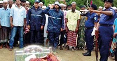 TBT circulation manager Shahidullah laid to rest