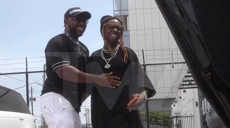 Lil Wayne Gifted New Birthday McLaren by Mack Maine, 'C5' News Too