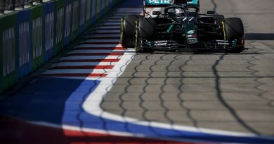 F1 Russian GP: Bottas tops opening practice with Hamilton 19th - F1