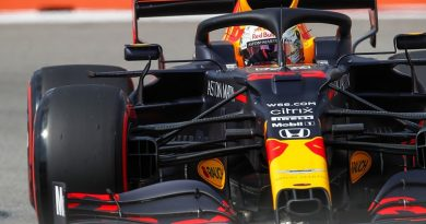 "Horner: ""One of his best laps this season"" for Verstappen front row at Russian GP - F1"