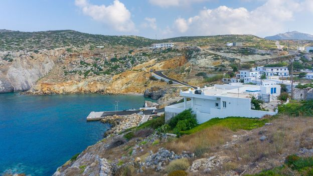 BBC - Travel - The Greek island luring climate scientists