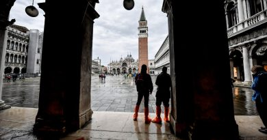 Floodgates in Venice Work in First Major Test