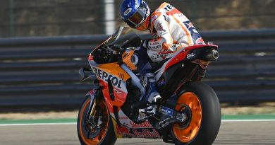 "Honda rider Marquez does not believe Aragon MotoGP podium is a ""real target"" - MotoGP"