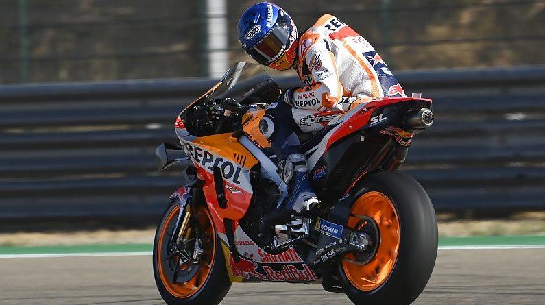 "Honda rider Marquez does not believe Aragon MotoGP podium is a ""real target"" - MotoGP"