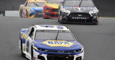 NASCAR Charlotte: Elliott wins with Kyle Busch eliminated from Playoffs - NASCAR