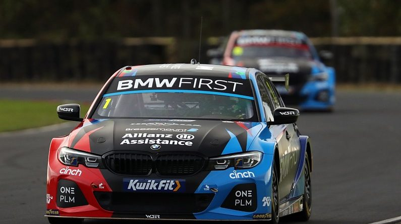 BTCC Croft: Turkington dominates for BMW in free practice - BTCC