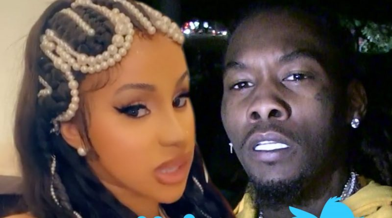 Cardi B Deactivates Twitter Due to Offset Backlash, Says She's Not Ariana Grande