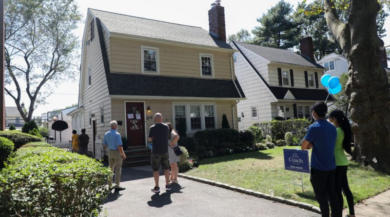 Home prices rose 4.8% in July, according to Case-Shiller index
