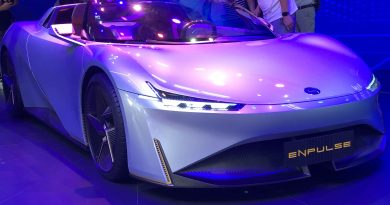 Chinese automakers show off concept sportscars, amid auto market slump