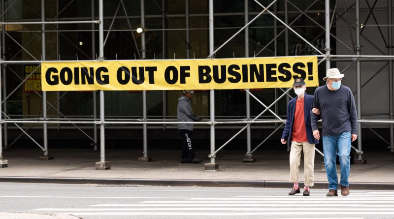 New York bankruptcies reportedly surge 40% during pandemic
