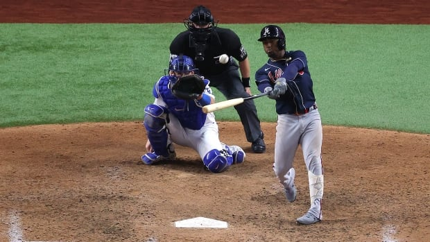 Freeman, Albies homer again to give Atlanta 2-0 NLCS lead over Los Angeles