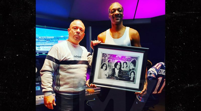 Snoop Dogg Commissions Cemetery Tim for Auntie's New Tombstone