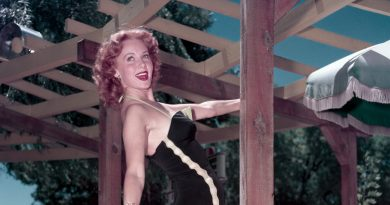 Rhonda Fleming, 97, Movie Star Made for Technicolor, Is Dead