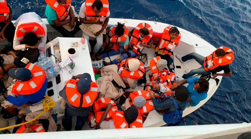 Cruise Ship Rescues 24 People From Sinking Boat Off Florida Coast