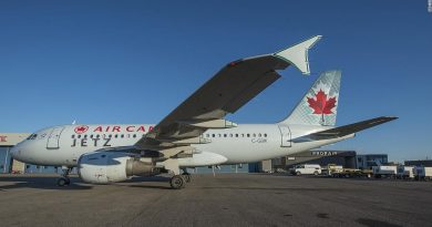 Air Canada's Jetz business-class planes are now for the public