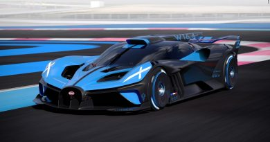 Bugatti unveils a super light hypercar that can top 300 mph