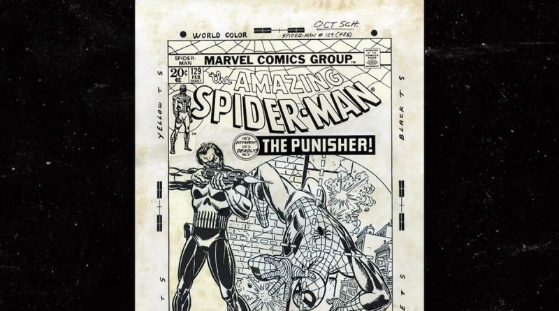 First Punisher Cover Hits Auction Block, Valued at $2 Million