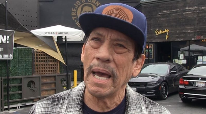 Danny Trejo Says Ex-Cons Should Be Able to Vote, Rips Trump's Prison Reform