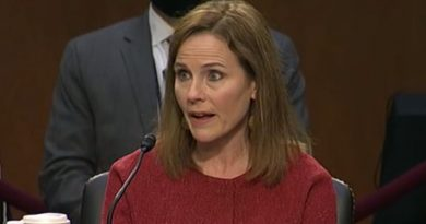 Amy Coney Barrett Says She Would Consider Recusal in Election Dispute