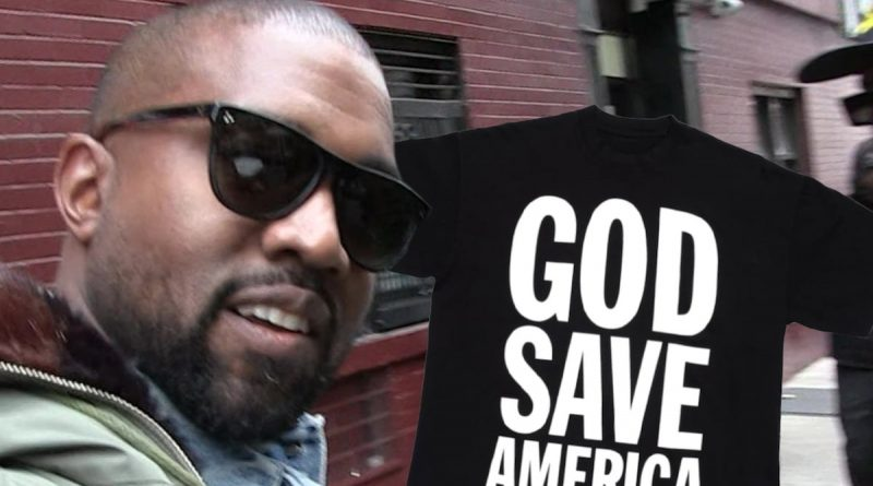 Kanye West Files for Rights to 'God Save America' Amid Campaign Push