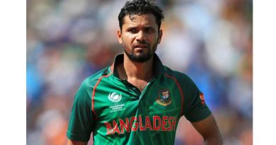 Mashrafe sore at  squad selection