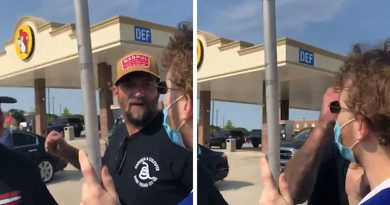 Man Punched for Playing 'F*** Donald Trump' Outside Texas Store