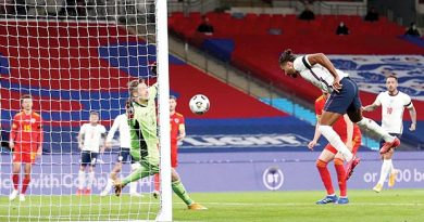 Calvert-Lewin gets debut goal  as England win Wales friendly