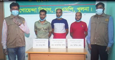 3 put on 5-day remand in Khulna triple murder case