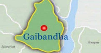 1900 flood hit families get BDRCS food packages in Gaibandha.