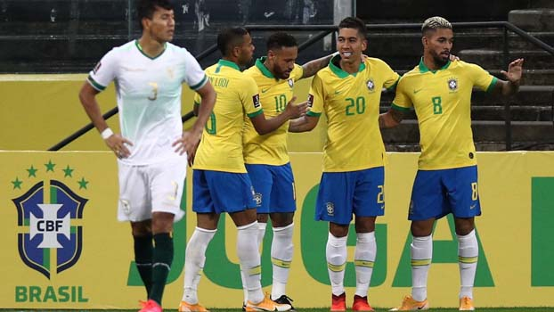 Brazil hammer Bolivia in WC qualifier