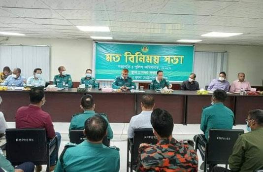 KMP boss asks lawmen to ensure security during Puja