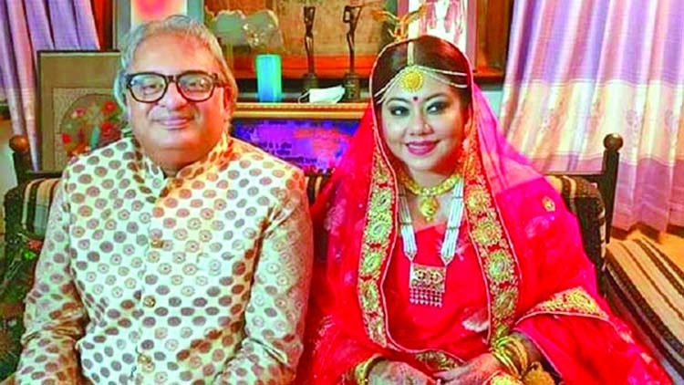 Shomi ties knot for third time   The Asian Age Online, Bangladesh