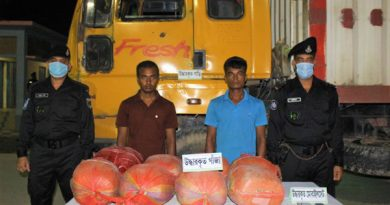 2 held with 40kg hemp in Sirajganj – Countryside – observerbd.com