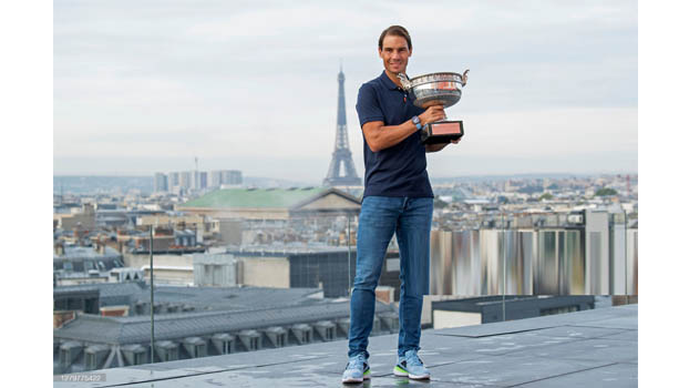 King Nadal wins record 20th grand slam title