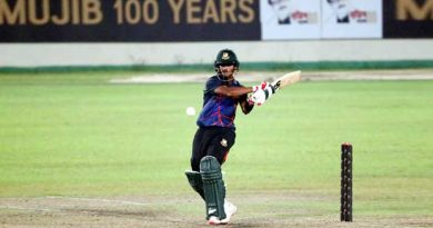 Mahadi's stormy 82 take Tamim XI to 221