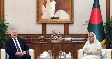 PM urges int'l community to help rehabilitate Rohingyas in Myanmar