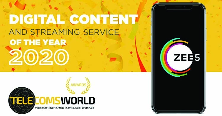 ZEE5 wins 'Digital Content and Streaming Service of the Year' award | The Asian Age Online, Bangladesh