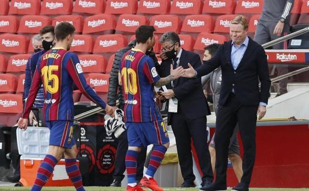 Messi's goal-drought already a headache for Koeman