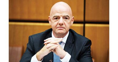 FIFA chief tests positive for   Covid-19