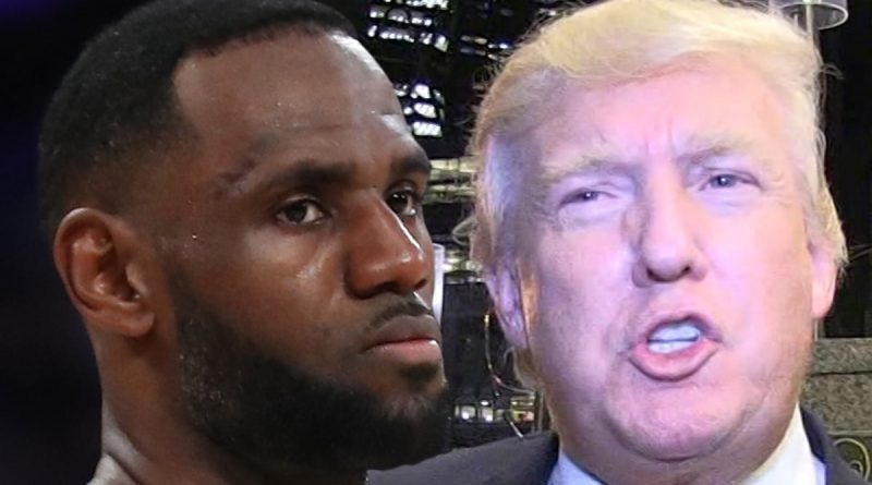 LeBron James Says He 'Damn Sure Won't Go Back And Forth' With President Trump