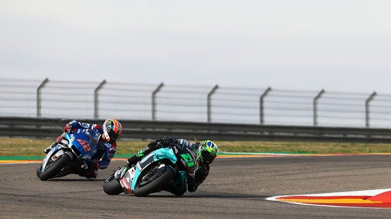 "Rins didn't ""have the chance"" to fight Morbidelli in Teruel MotoGP - MotoGP"